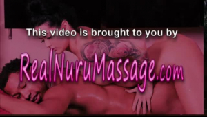 A sweet nuru masseuse sucks dick and tribs the client