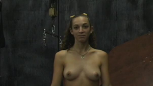 Blonde beauty is moaning while having sex in front of the camera because it is exciting