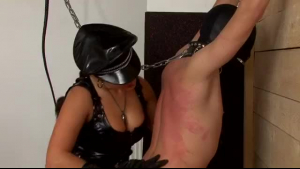 Big tit brunette dominates her wish slave