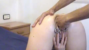 Tinytailed anal and deep swallowing