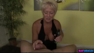 Two exotic mature hookers gets cumcovered