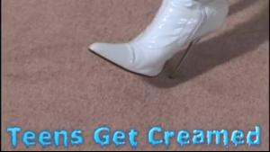 Horny mom get both holes full of semen