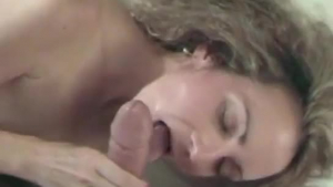 Naughty wife gets a climax after a blowjob