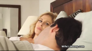 Hot swinger wife getting pounded by a big black cock
