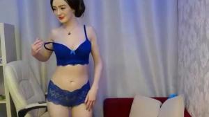 Hot pokey blue eyed sluts in latex toying hard