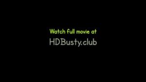 Busty ebony getting anal