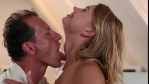 Blonde shemale gets her pussy pounded by her BBC
