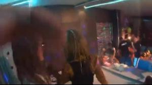 Drunk party sluts spreading open for hunks