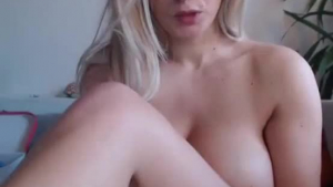 Busty blonde and her lover went camping in a luxurious hotel to have wild sex