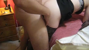 Sporty chick is down on her knees and moaning from pleasure while getting fucked hard