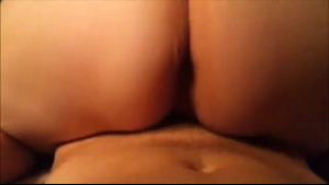 Kinky brunette is sucking on a big, black cock and getting it inside her wet pussy