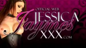 Pornstar Jessica Jaymes is a massive fan of a kinky eight inch meat stick