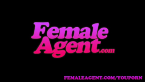 Female agent gets humiliated in a close up