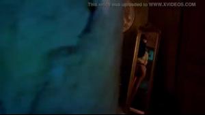 Teen brunette diva sucks cock in a video clip