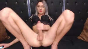 Nice anal sweetie fingers her snatch