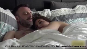 Kimber Woods is fucking Reagan Foxxx like crazy, in her huge bed, in the late afternoon