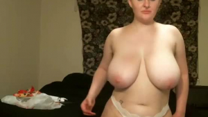 Adorable blonde with perky nipples is having sex with her roommate at home, all day long