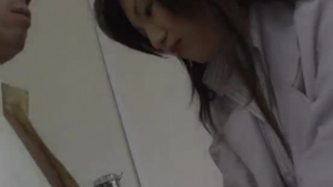 Sweet teen Japanese pounded by her professor before sucking boyfriend