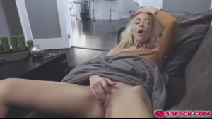Nasty chick got down on her knees and gave a blowjob to her partner, free of any charge