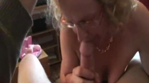 Busty mature in stockings fucked