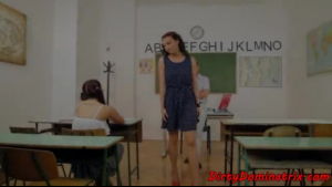 German sub fucked by the teacher at her maltinguished apartment