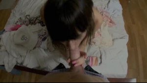 Gorgeous skinny teen inserting fingers inside of her pettan and monster of dildo