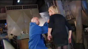 Sexy blonde amateur hitchhiker fucked by the mechanic