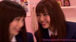 Miku Koizumi cute Asian Schoolgirls Gets Stuffed by German Boy
