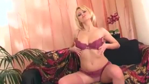 Veronica Rodriguez in erotic lingerie and high heels is about to start cheating on her husband