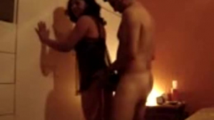 Cock loving trans amateur fucked from behind