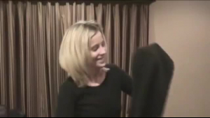 An amateur blonde is secretly in love with a guy she likes a lot