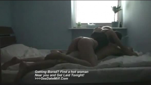 Sexy woman is visiting her colleague from work with his girlfriend and having sex with them