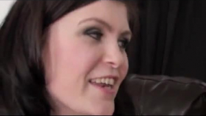 Storia likes to feel a glass dildo inside her pussy, until she starts moaning and screaming from pleasure