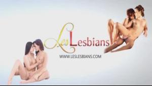 Two gorgeous lesbians suck lesbian lovers