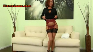 A sexy firm redheaded in anal fucking