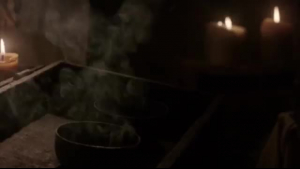 Khaleesi Gray porn star babe handles one big rod