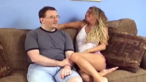 Lucky guy seducing a couple