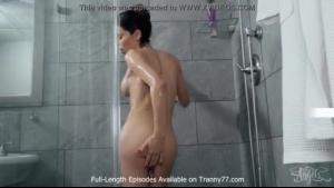 Teen tranny ass pumped in cinema