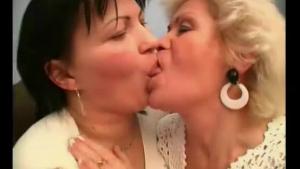 Two mature lesbian dolls fucking
