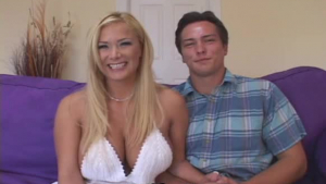 Married couple with nice looking pornstars is having sex in front of the camera, just for fun