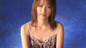 One beautiful Japanese babe gets cumcovered