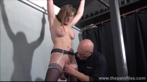 Slutty slave tortured by slave