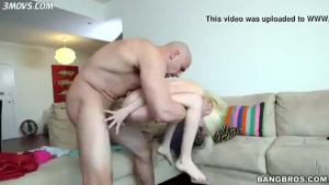 Two perfect little sluts are having a great time with guys, in front of the camera