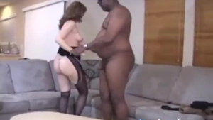 Screwed slut getting her pussy pounded while her boyfriend is fisting her ass