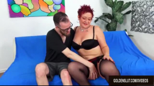 Horny woman, Ryan Keely is pampering her clients, a huge cock and pussylips in her tight ass