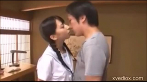 Fresh japanese girl fucked by a player