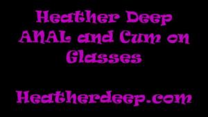 Big ass Heather deep throat cock and cum
