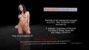 Naughty brunette Angelina Valentine fucked into cheerleader