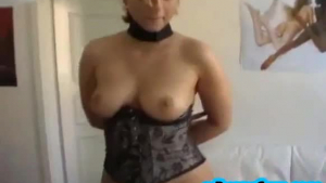 Hot chick with small tits, Sara Luvv was playing with herself in a local forest while no one was watching