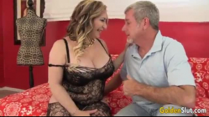Hot woman, Jane is giving a footjob to a guy who offered her money to do it